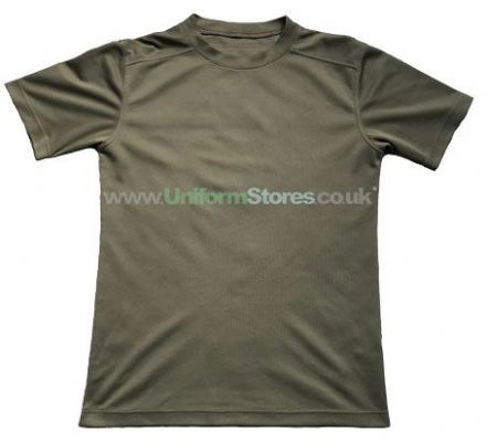 British PCS T-shirt Anti-Static Olive Green BRAND NEW